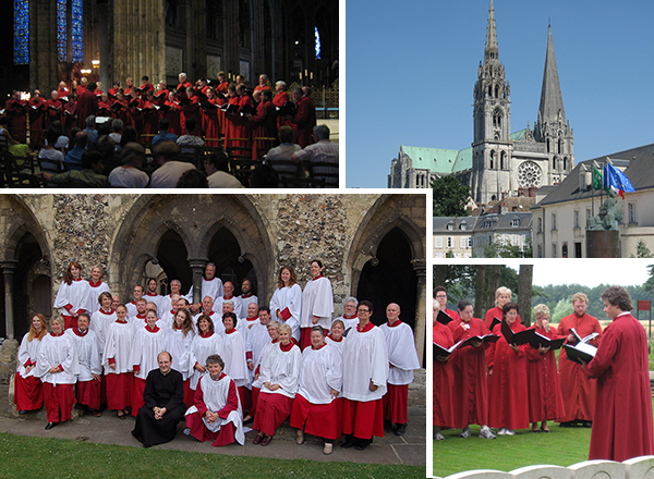 Tour 2006 - Chartres, France and Canterbury, UK